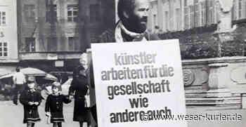 Aktion Künstlerbrot in Worpswede: Protest im Geiste Heini Linkshänders - WESER-KURIER