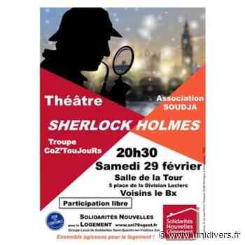 Sherlock Holmes Salle de la Tour Voisins-le-Bretonneux - Unidivers