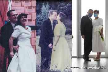 Els en Jan maken al 25 jaar foto in trouwkleren op huwelijksverjaardag: zoek de verschillen