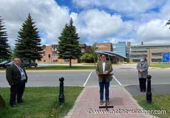 $100,000 for Heliport in Fort Frances Announced by Minister Rickford - Net Newsledger