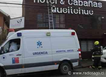 Pacientes Covid-19 de residencia sanitaria de Ancud fueron trasladados a residencia de Castro tras amago de incendio - Radio Sago