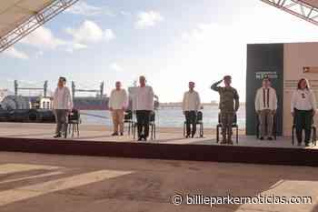 Supervisa López Obrador ampliación del puerto de Coatzacoalcos - Billie Parker Noticias
