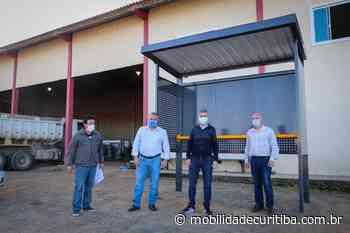 Lapa, Campo do Tenente, Piên e Rio Negro recebem novos abrigos para pontos de ônibus - Mobilidade Curitiba