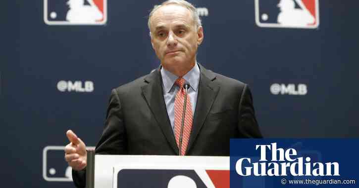 MLB commissioner Rob Manfred says he's '100%' sure of baseball in 2020