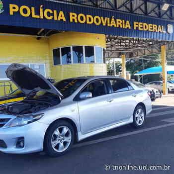 PRF apreende veículo na tarde desta segunda em Mandaguari - TNOnline - TNOnline