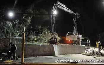 Controlan desbordamiento del Canal San Buenaventura en Xochimilco - La Prensa