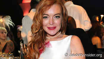 Lindsay Lohan Shows Off Her Fit Body In New Fitness Pic And Fans Are Very Impressed! - Celebrity Insider