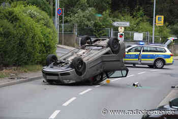 Autounfall in Freital - Radio Dresden