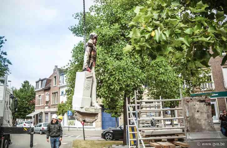 Weggehaald standbeeld Leopold II in Ekeren is wereldnieuws: van The New York Times tot Al Jazeera - Gazet van Antwerpen