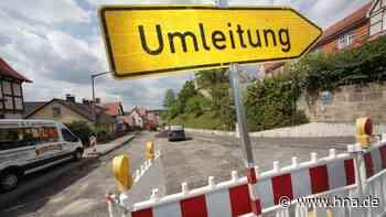 Zweite Vollsperrung der Hans-Staden-Straße bis September | Wolfhagen - hna.de