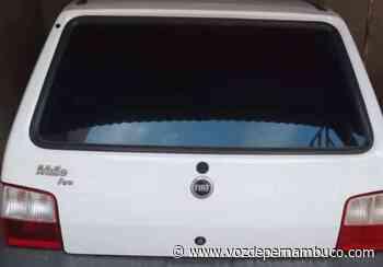 Carro foi furtado nesta quarta-feira (10) em Carpina - Voz de Pernambuco