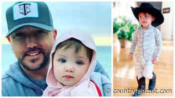 Jason Aldean's Son (Memphis Cutest Moments Video) - Country Fancast