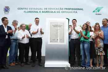 Paraná abre primeira escola técnica de operação florestal do Brasil, em Ortigueira - TNOnline - TNOnline