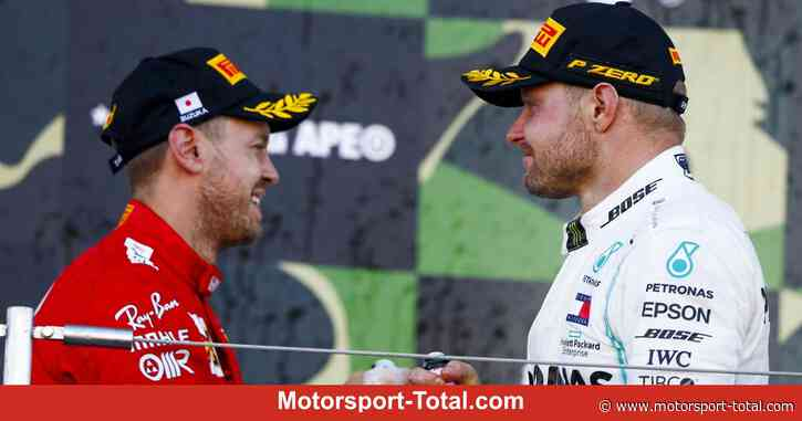 Valtteri Bottas verrät: Sebastian Vettel ist kein Thema für Mercedes - Motorsport-Total.com