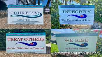 SEIDMAN: Encouraging harmony — one sign at a time - Sarasota Herald-Tribune