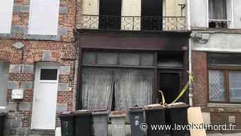 Avesnes-sur-Helpe : le feu dans une maison rue Léo-Lagrange - La Voix du Nord