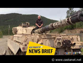 Lumby man adds a British battle tank to his collection - Vernon News - Castanet.net