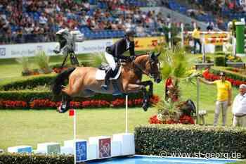 Goch: Richard Vogel siegreich mit neuem Pferd - - St.GEORG