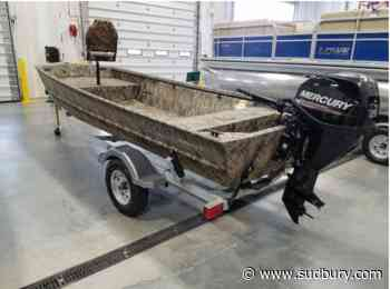 Police: Have you seen this boat that was stolen from Little Current on June 9? - Sudbury.com