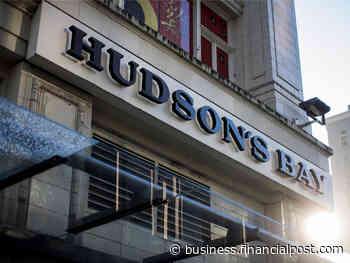 Hudson's Bay seeks financing as virus crimps sales: sources - Financial Post