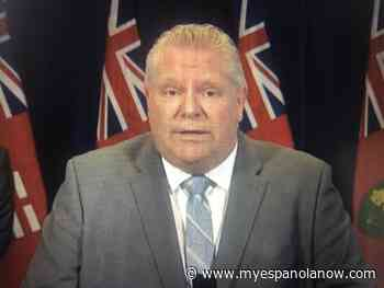 Ontario Premier and Deputy Premier test negative for COVID-19 - My Eespanola Now