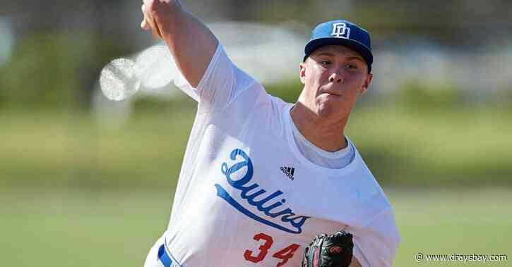 2020 MLB Draft Video Roundup: Rays first round draft pick Nick Bitsko throws eye-popping stuff