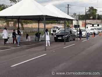 Guaratuba tem barreira na entrada e fiscalização em toda a cidade - Correio do Litoral