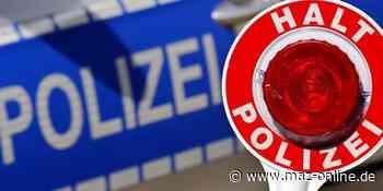 Zeuthen - Betrunken und unter Kokain-Einfluss: Mann beleidigt Polizisten und verletzt einen Beamten - Märkische Allgemeine Zeitung