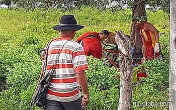 Idoso morre após se afogar em açude no município de Tobias Barreto - G1