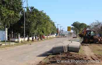 Binário da Avenida Santos Dumont: obras avançam no bairro São Luiz - Engeplus