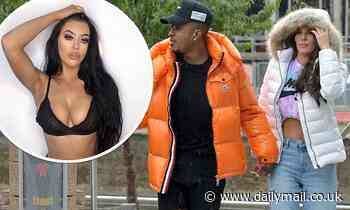 Love Island's Biggs Chris 'messaged stunning brunette behind Rebecca Gormley's back' - Daily Mail