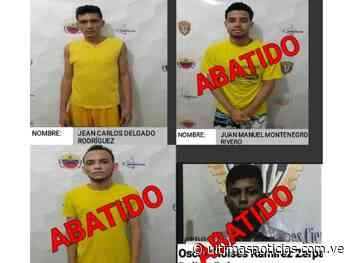 Abatidos tres presos fugados del Cicpc-Valle de la Pascua - Últimas Noticias
