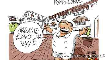 La vignetta di Gef: Porto Cervo deserta, pochissimi alberghi aperti - La Nuova Sardegna