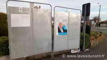 Wormhout: le maire dépose plainte pour «altération d'affiches électorales émanant d'un particulier» - La Voix du Nord