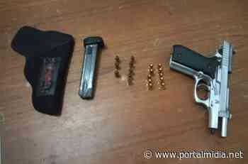 Adolescente de 16 anos é apreendido com pistola em Guarabira - Últimas notícias, vídeos, esportes, entretenimento e mais - PortalMidia