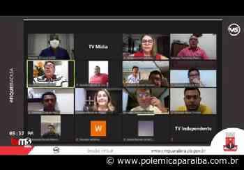 Em meio à pandemia, Câmara de Guarabira aprova reajuste de salários de vereadores e prefeito e é alvo de críticas - Polêmica Paraíba