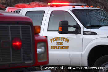 Flaming tractor extinguished by Naramata Fire Department - Pentiction Western News