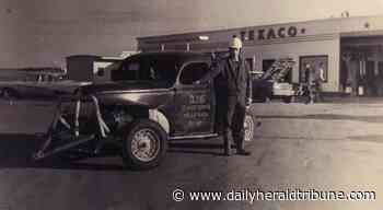 Highway history: Valleyview christens service corridor as Crocus Hill Gasoline Alley - Alberta Daily Herald Tribune