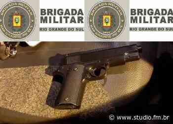 Após perseguição, Brigada Militar de Garibaldi prende mulher e recupera veículo roubado - Rádio Studio 87.7 FM