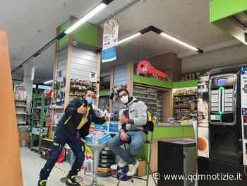 CASTELPLANIO / La Ferramenta Sarti dona mascherine alla Protezione... - QDM Notizie