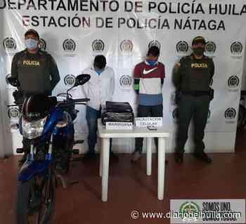 Transportaban 6 kilos de marihuana en Nátaga - Diario del Huila