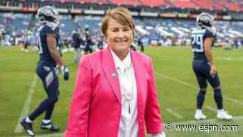 Titans owner Amy Adams Strunk says she supports peaceful protests - ESPN