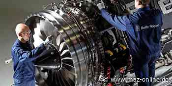 """""""Made in Dahlewitz"""": Rolls-Royce liefert 8000. Triebwerk aus - Märkische Allgemeine Zeitung"""