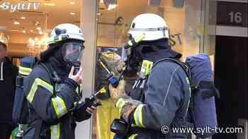 Feuerwehreinsatz in der Friedrichstraße in Westerland - Sylt TV