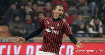 Serie A: Zlatan Ibrahimovic und AC-Mailand-Boss Ivan Gazidis im Streit - SPORT1