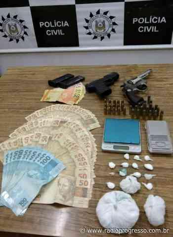 Quatro pessoas são presas por tráfico de drogas em Cerro Largo - Rádio Progresso de Ijuí