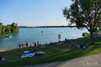 Jetzt doch: Im Hardtsee in Ubstadt-Weiher ist Schwimmen erlaubt - aber nur mit Jahreskarte - BNN - Badische Neueste Nachrichten