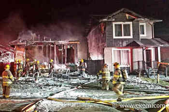 Two Martensville homes badly damaged by fire - CKOM News Talk Sports