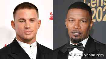 Channing Tatum & Jamie Foxx Pay Their Respects at George Floyd's Funeral - Yahoo News