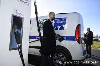 Plein succès pour la station GNV intercommunale du pays d'Apt Luberon - Gaz-Mobilite.fr